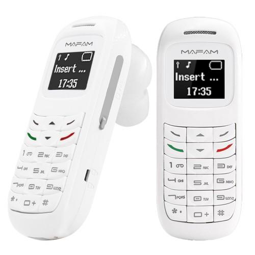 GTStar BM70 Bluetooh ακουστικό κινητό τηλέφωνο λευκό BM70-W
