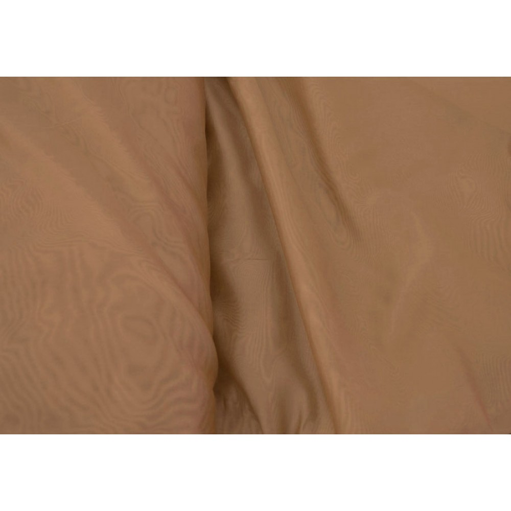 Κουρτίνες έτοιμες ραμμένες βουάλ  καφέ-ταμπά KE 059 (280X140cm)