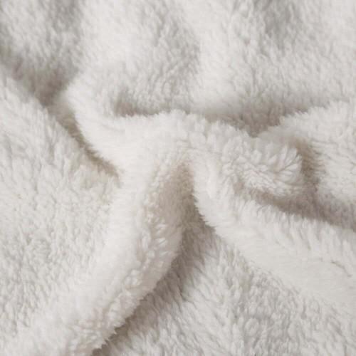 Πλεκτή κουβέρτα - ριχτάρι Μονή Μπεζ-γκρι (160x220cm) KNT-005S