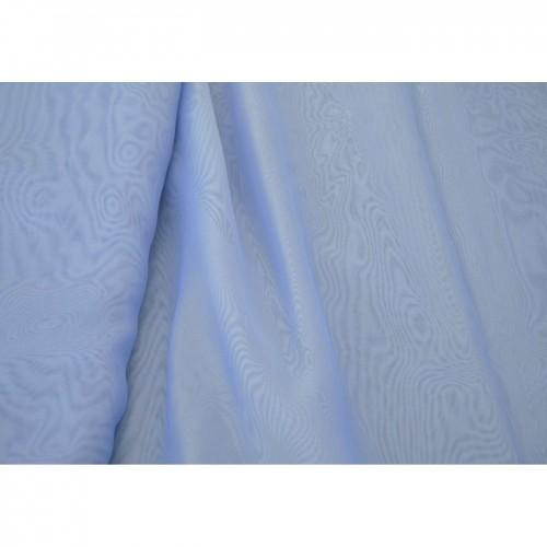 Κουρτίνες έτοιμες ραμμένες βουάλ  μπλε KE 1735 (280x140cm) - με τρέσα