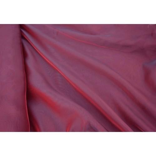 Κουρτίνες έτοιμες ραμμένες βουάλ  μπορντό KE 1738 (280x140cm) - με τρέσα