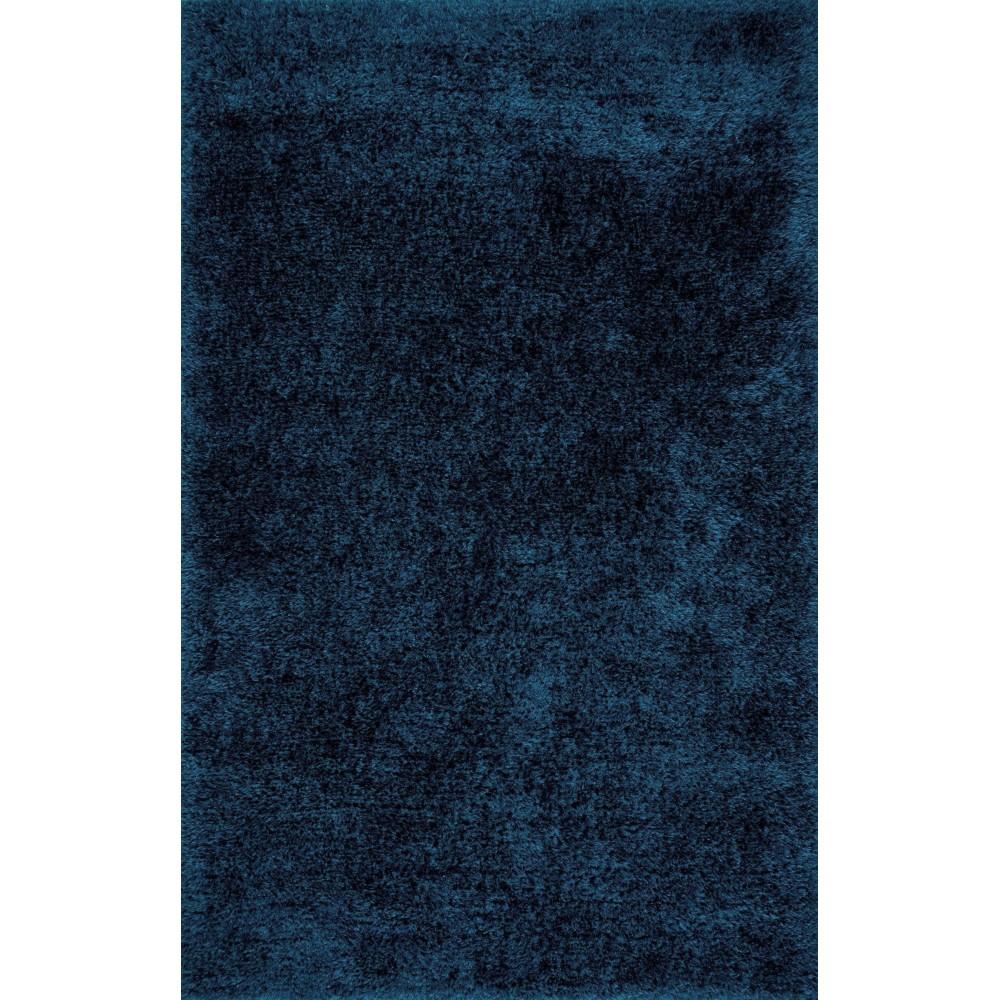 Χαλιά Shaggy Supreme 612BLU Μπλε 133X195cm