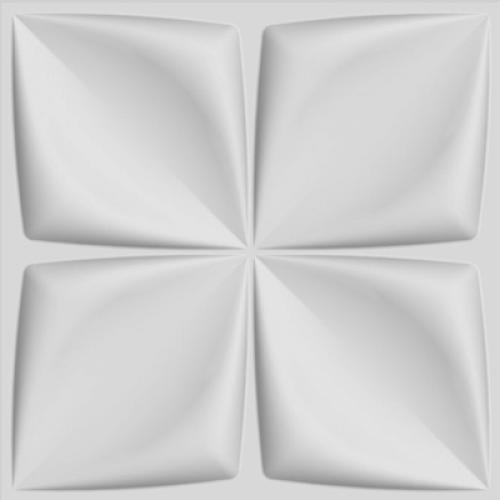 Διακόσμηση τοίχου 3D πάνελ Λουλούδι (τμχ) WA0004-PCS