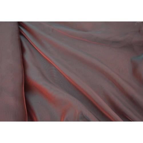 Κουρτίνες έτοιμες ραμμένες βουάλ  μπορντό KE 811 (280x140cm) - με τρέσα