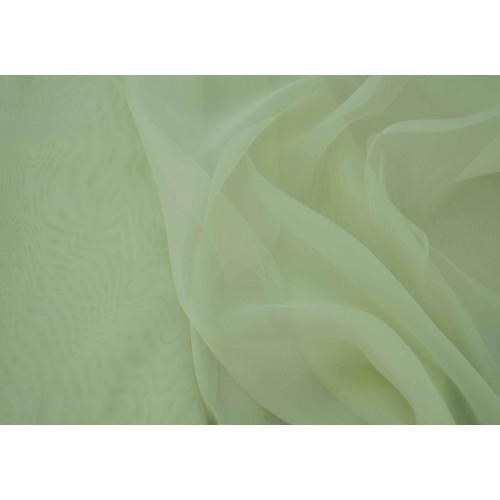 Κουρτίνες έτοιμες ραμμένες βουάλ  πράσινο ανοιχτό KE 804 (280X140cm)