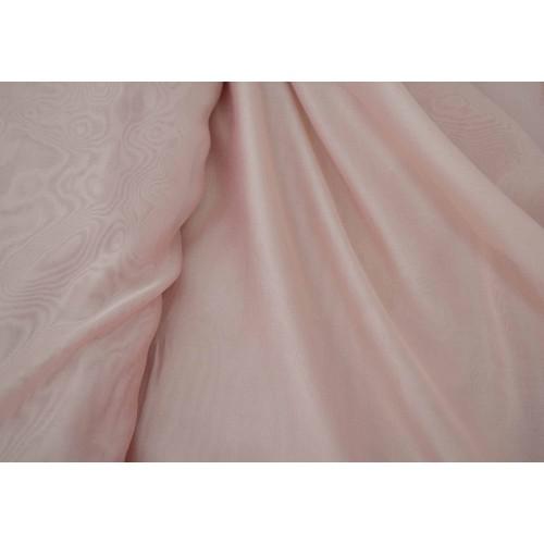 Κουρτίνες έτοιμες ραμμένες βουάλ  Ροζ KE 805 (280x300cm) - με τρέσα